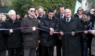 Inauguration de la nouvelle promenade du Belvédère