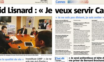 """""""Oui, je suis candidat à la mairie de Cannes"""""""