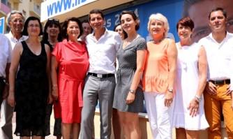 David Lisnard présente son équipe de campagne