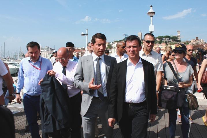 Manuel Valls à Cannes