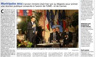 Xavier Bertrand choisit le candidat David Lisnard