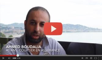 Ahmed Boudalia soutient David Lisnard