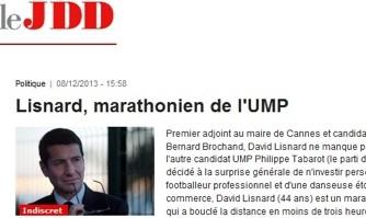 Lisnard, marathonien de l'UMP