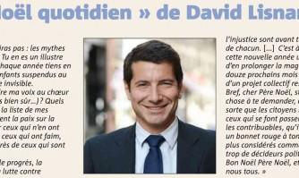 """Le """"noël quotidien"""" de David Lisnard"""