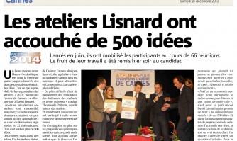 Les ateliers Lisnard ont accouché de 500 idées