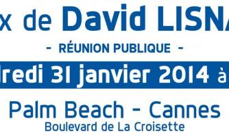 Invitation aux Voeux de David Lisnard