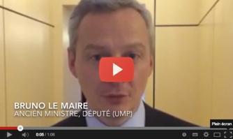Bruno Le Maire soutient David Lisnard