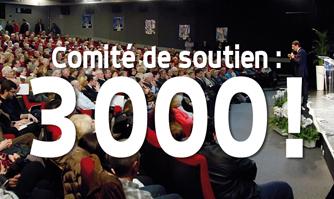 """Trois mille .. et un Cannois pour """"Vive Cannes"""""""