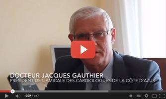 Docteur Jacques Gauthier soutient David Lisnard