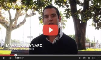 Maverick Heynard soutient David Lisnard