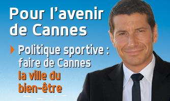 Politique sportive : faire de Cannes la ville du bien-être