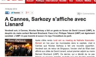 Nicolas Sarkozy soutient David Lisnard