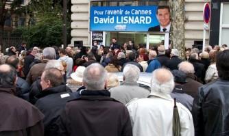 Enthousiasme pour l'inauguration de la permanence du boulevard Carnot
