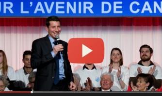 Voeux de David Lisnard : La santé pour tous.. et pour Cannes