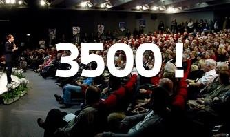 3500 soutiens : la vague monte