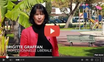 Brigitte Graffan soutient David Lisnard