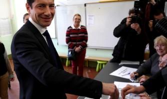 Réaction de David Lisnard aux résultats du 1er tour des élections municipales à Cannes