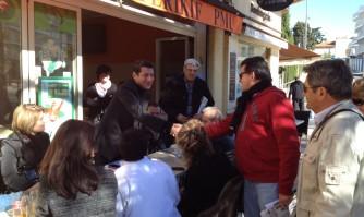 A la rencontre des riverains dans le quartier République