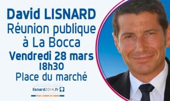Réunion publique à La Bocca 28 mars