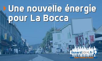 Une nouvelle énergie pour La Bocca