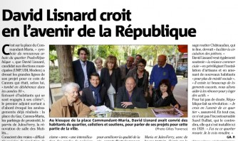 David Lisnard croit en l'avenir de la République