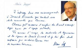 Alain Juppé soutient David Lisnard