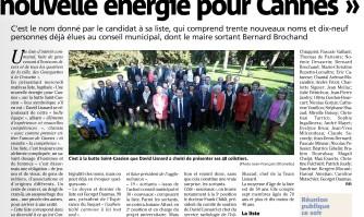 """David Lisnard veut """"une nouvelle énergie pour Cannes"""""""