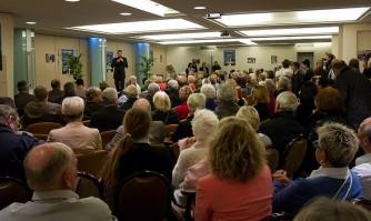 Une réunion très applaudie dans le quartier du Suquet