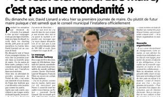 """David Lisnard: """"Je veux bien faire. Être maire, c'est pas une mondanité »"""
