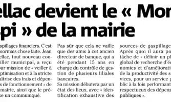 """Jean Mellac devient le """"Monsieur anti-gaspi"""" de la mairie"""