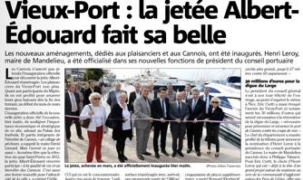 Vieux-Port : la jetée Albert-Edouard fait sa belle