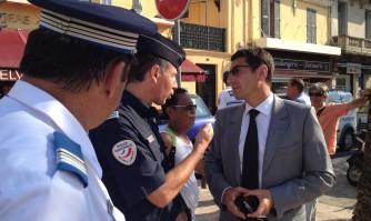David Lisnard au côté des forces de l'ordre pour la sécurité et contre l'incivisme