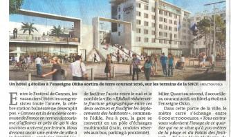 Nouveau quartier de la gare pour réunir le nord et le sud de Cannes