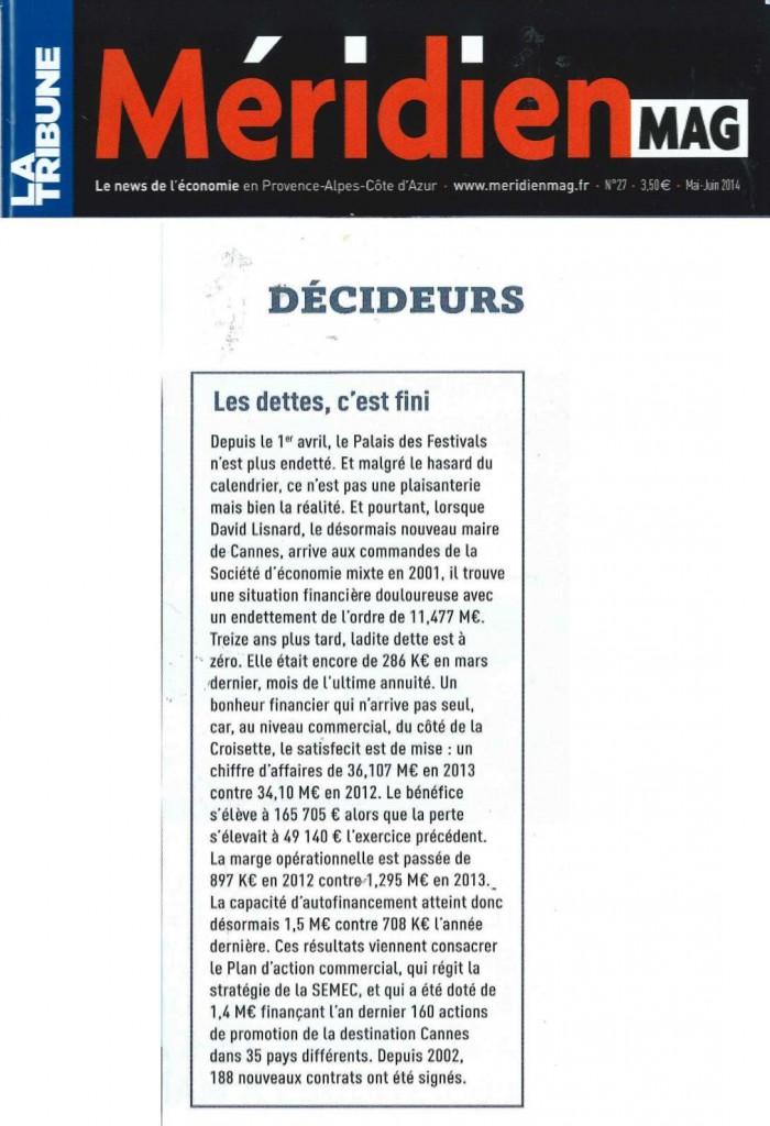 La Tribune Le Méridien