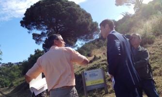 David Lisnard veille au débroussaillement des espaces naturels