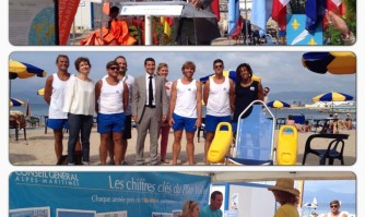 Handivoile s'installe à Cannes pour sa dernière étape