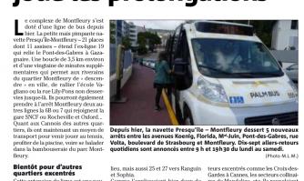 A Montfleury, le minibus joue les prolongations