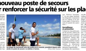 Un nouveau poste de secours pour renforcer la sécurité sur les plages