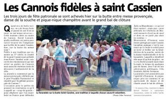 Les Cannois fidèles à saint Cassien