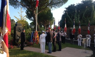 Cérémonie d'hommage aux Harkis morts pour la France