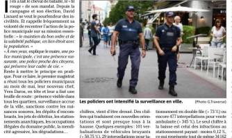 """Incivilités : la police municipale a mis """"le paquet"""" cet été"""