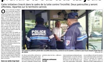 La Police municipale va prendre le bus tous les jours