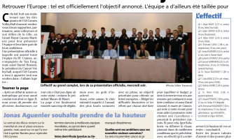 Volley Ball : l'AS Cannes voit déjà loin