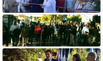 Inauguration du Boulevard du Riou rénové