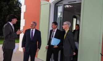 Le Président de Reed Midem visite la pépinière d'entreprises