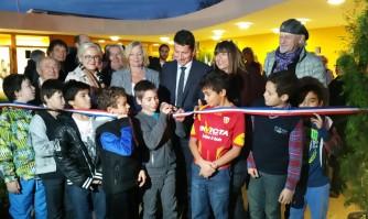 Inauguration de la Maison de l'Enfance à La Bocca