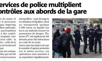 Les services de police multiplient les contrôles