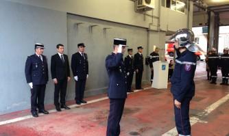 David Lisnard rend hommage aux Pompiers cannois