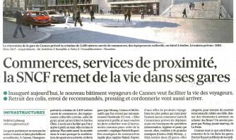Commerces, services de proximité, la SNCF remet de la vie dans ses gares