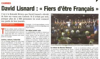 "David Lisnard ""fiers d'être Français"""